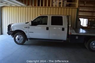 2002 F550 Ford Lariat Crew Cab