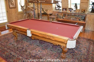 Golden West Billiard Pool Table