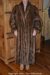 McElroy Full Length Mink Coat